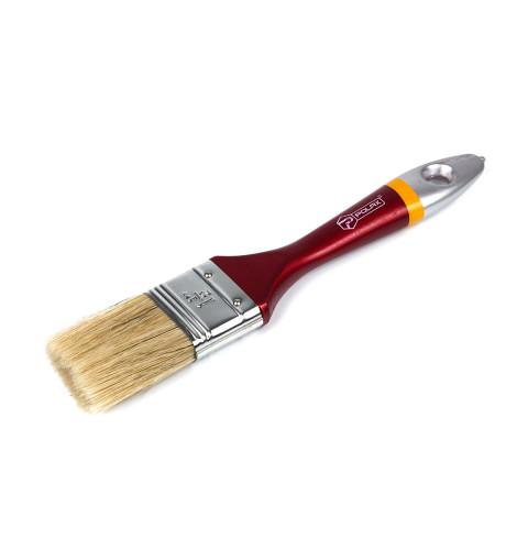 фото Кисть малярная Polax флейцевая деревянная ручка Евро 1.5
