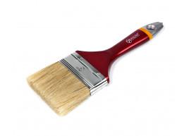 фото Кисть малярная Polax флейцевая деревянная ручка Евро 3