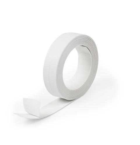 фото Бордюрная лента для ванной Polax 28 мм х 3,2 м Белая (45-001)